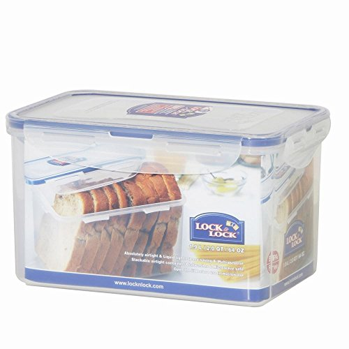 64 Oz. Rectangular Tall Food/Bread Container