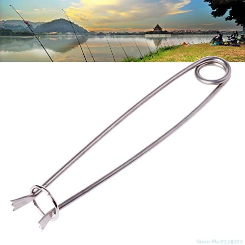 - Susie-Smile - New Stainless Steel Fish Mouth Spreader For Fresh Saltwater Fishing Tackle Tool 17cm fishing tool