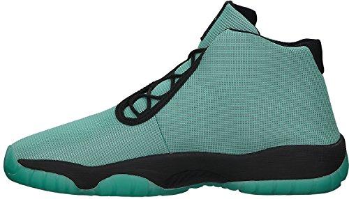 Nikeair Jordanien Framtida Gg Kid Sneakers Blekt Turkos / Svart 685251-300 Blekt Turq / Svart