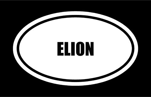 6-die-cut-white-vinyl-elion-name-oval-euro-style-vinyl-decal-sticker