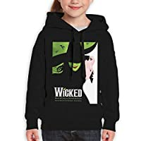 Guiping Wicked The Musical Teen Hooded Sweate Sweatshirt XL Black