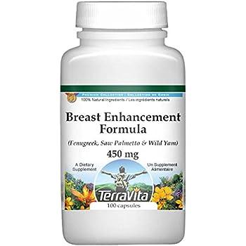 Breast Enhancement Formula - Fenugreek, Saw Palmetto and