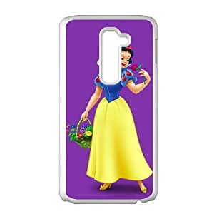 LG G2 Cell Phone Case Covers White Snow White and the Seven Dwarfs WNE