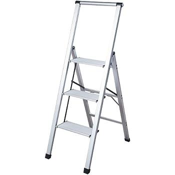 Amazon Com Polder Ultra Light Aluminum 5 Step Ladder