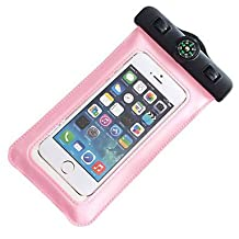 Compass Water Proof Diving Bag For iphone4 4s 5 5s Portable Outdoor WaterProof Pouch ( Color : Blushing Pink )