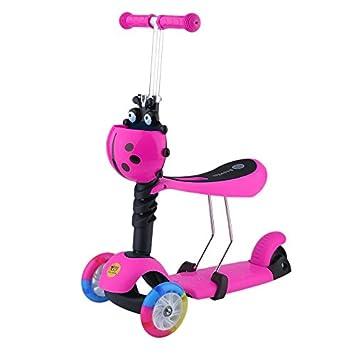 homgrace Scooter para niños de 3 ruedas con LED luces ...