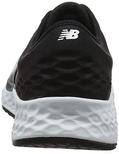 New Balance Men's 1080v9 Fresh Foam Running Shoe, White/Black/deep Ozone Blue, 7 D US by New Balance (Image #2)