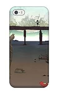 touhou moon bridges maribel han usami renko Anime Pop Culture Hard Plastic iPhone 5/5s cases WANGJING JINDA