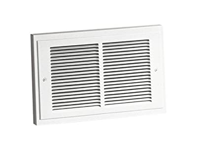 Broan-NuTone 128 Wall Heater with Downflow Louvers, Supplemental Heater for Bathroom and Home, White Grille, 240 VAC, 2000/1000 Watt