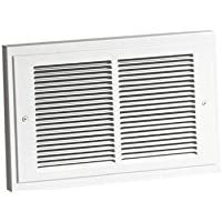Broan 120 Wall Heater, 500/1000 Watt 120 VAC, White Grille