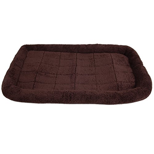 (SNOOZZY BROWN 41X26 BOLSTER CRATE MAT)