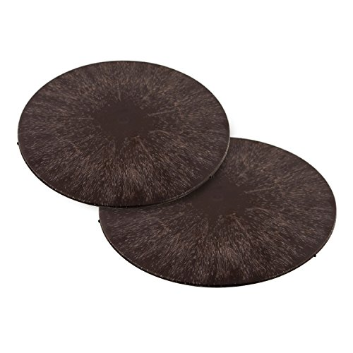 U.S. Art Supply - 11' Round Plastic Pottery Wheel Bats, Set of 2 - Durable, Balanced Bat for Use Spinning Clay & Making Ceramics - Design To Only Fit U.S. Art Supply Pottery Wheel