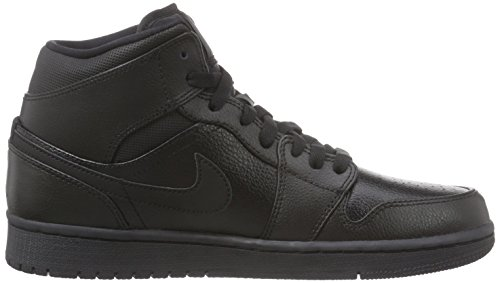 Shoe Mid Men's Jordan Basketball Nike Jordan Black Black Black Air 1 qw05xXHWpX