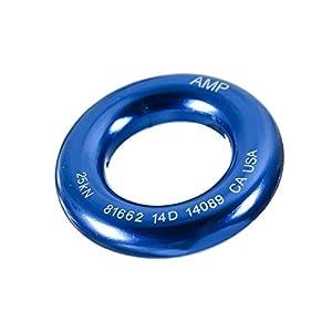 "Fusion Climb Perfect Tension Aluminum O Ring Small 2"" Blue 25KN"