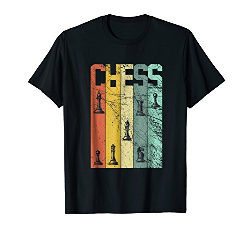Chessboard Pawn Rook King Queen Bishop Knight Chess T-Shirt ()