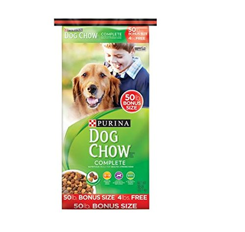 Purina Dog Chow Complete Dog Food Bonus Size, 50 lbs