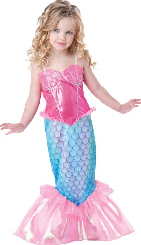 Girl's Mermaid, Pink/Turquoise
