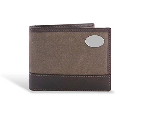 Turkey - Waxed Canvas Leather Passcase Wallet