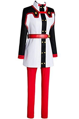 Ya-cos Sword Art Online Ordinal Scale Asuna Cosplay Costume Uniform Battle Jumpsuit (Blue Asuna Costume)