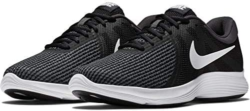 Nike Men s Revolution 4 Running Shoe, Black White-Anthracite, 8 Regular US