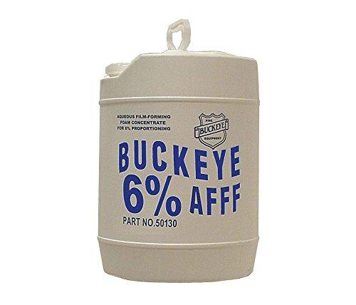 Buckeye 50130 BFC-6 Aqueous Film Forming Foam Concentrate (6% AFFF), 5 gal Pail Afff Foam Fire Extinguisher