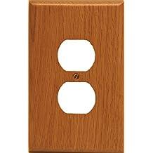 Runwireless Traditional Light Oak Wood, Switch Plate, Wall Plate, Cover 4-430D