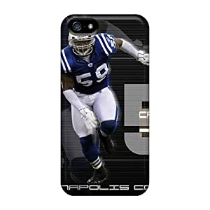Hard Plastic Iphone 5/5s Cases Back Covers,hot Indianapolis Colts Cases At Perfect Customized