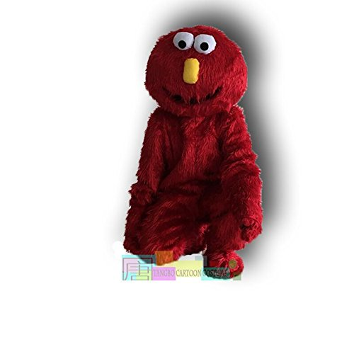 Costume Grouch The Oscar Infant Halloween (Elmo Red Monster Mascot Costume Plush Cartoon)