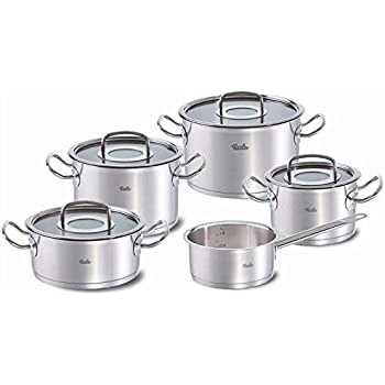 fissler solea 8 piece cookware set fissler pressure cooker kitchen dining. Black Bedroom Furniture Sets. Home Design Ideas