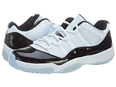Nike Mens Air Jordan 11 Retro Low \u0026quot;Concord\u0026quot; Synthetic Basketball Shoes