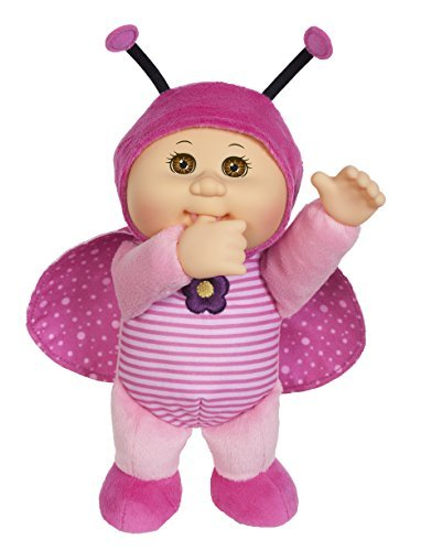 Cabbage Patch Cuties Sunny Ladybug 9 Inch Soft Body Baby Doll - Garden Party Collection -