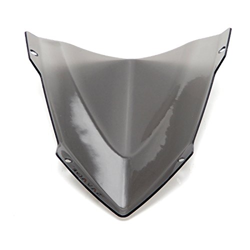 KEMIMOTO FZ 09 Windshield Wind Screen + Bolts Screws Bracket For Yamaha FZ-09 FZ09 2014 2015 2016 by KEMIMOTO (Image #5)