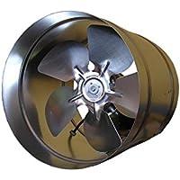 Ventilador Extractor En Línea Industrial de acero galvanizado