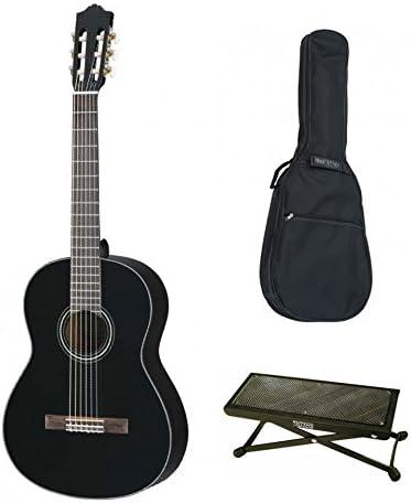 Pack Yamaha c40bl negra – Guitarra clásica (+ funda y descansa pie ...