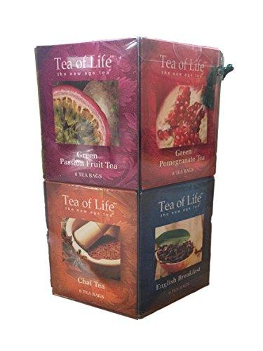 Life Sampler (Tea of Life the New Age Tea 96 Bag Collection Gift Pack)