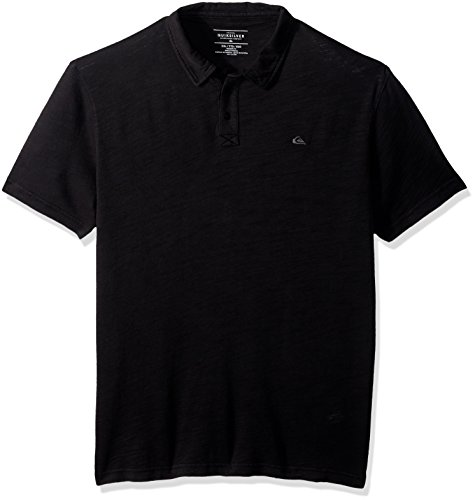 Shirt Up Quiksilver Button - Quiksilver Men's Everyday Sun Cruise, Black, L