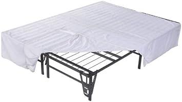 Kings Brand Furniture Platform Bed Frame Mattress Foundation No Box Spring Needed Full