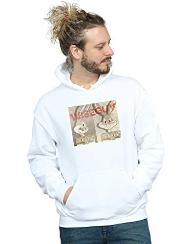Capuche Blanc Guy Looney À Sweat Homme Tunes Cult Wise Absolute x4wqz8vX
