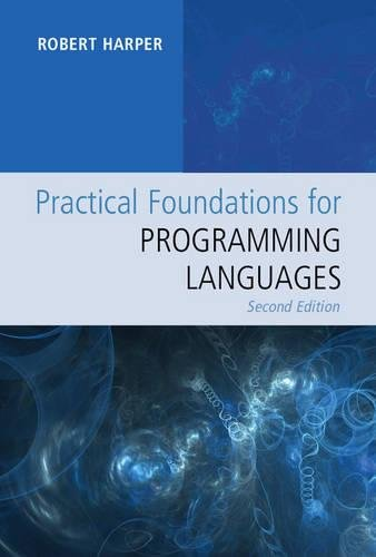 Large book cover: Practical Foundations for Programming Languages