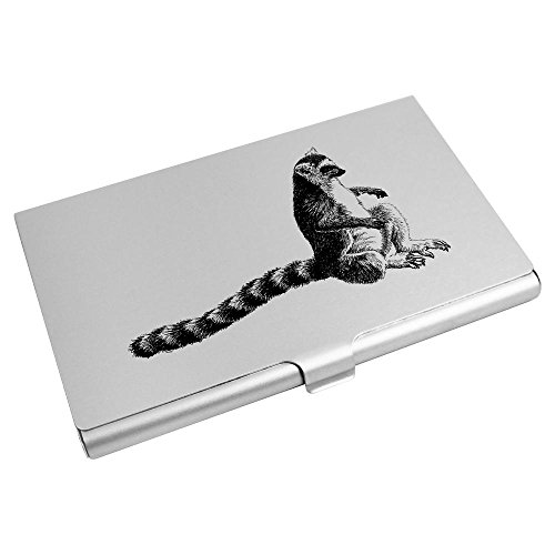 Azeeda Lemur' Tailed Wallet Credit 'Ring Business CH00004478 Card Card Holder EprWnEqPSF