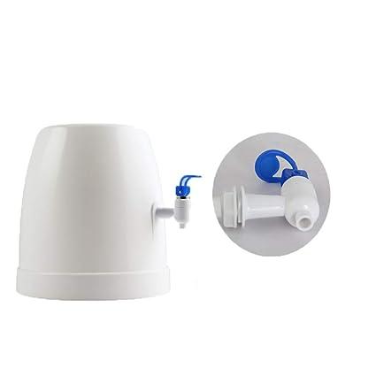 H&YL Mini Encimera Botella Agua Refrigerador Dispensador Inicio Uso De La Oficina(White) 270 * 270Mm: Amazon.es: Hogar