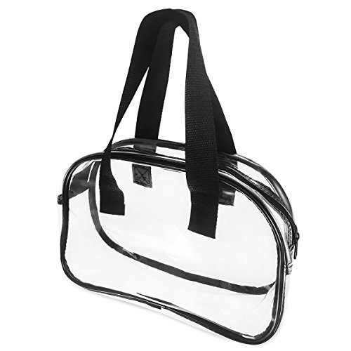 Stadium NFL Approved Clear Bag Tote Handbag Messenger Bag (Handbag) (Bam Bags Handbag)