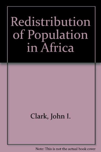 Redistribution of Population in Africa
