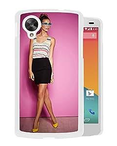 New Custom Designed Cover Case For Google Nexus 5 With Sandra Kubicka Girl Mobile Wallpaper(32).jpg