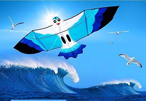 FidgetGear Seagull Kite 100M Kite Line Flying Bird Outdoor Play Toy Beach from FidgetGear