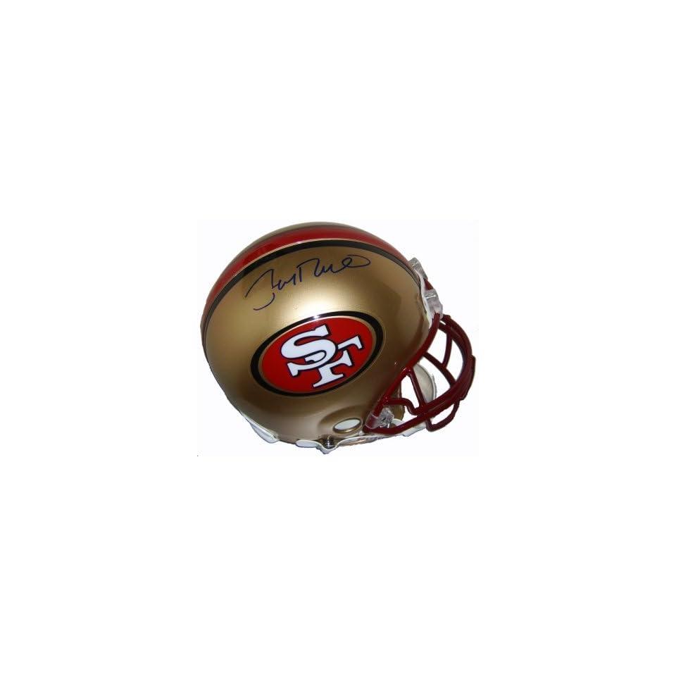 Jerry Rice Signed 49ers ProLine Helmet