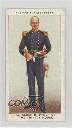 (An Elder Brother of the Trinity House Ungraded COMC Good to VG-EX (Trading Card) 1937 Player's Coronation Series Ceremonial Dress - Tobacco [Base] #42)