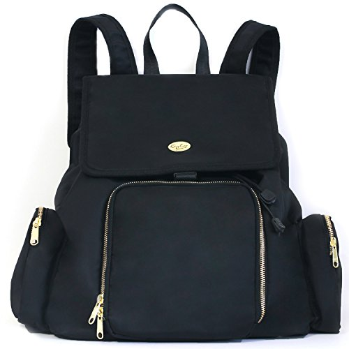Kaylaa Premium Breast Pump Bag - Backpack (Classic Black) - Fits ALL Breast Pumps, including Hospital Grade Pumps by Kaylaa