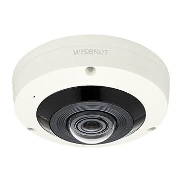 Cámara de vigilancia externa Samsung XNF-8010RV 4MP HD Fisheye resistente a los vándalos