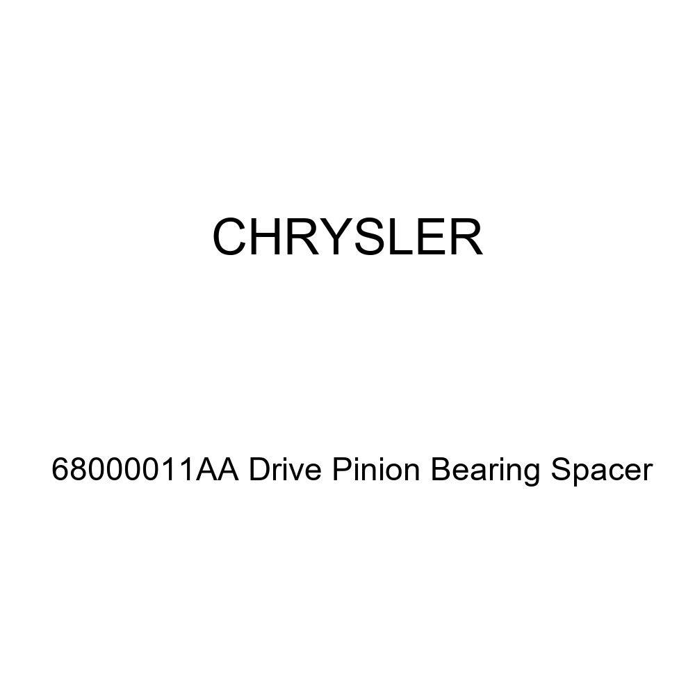 Genuine Chrysler 68000011AA Drive Pinion Bearing Spacer